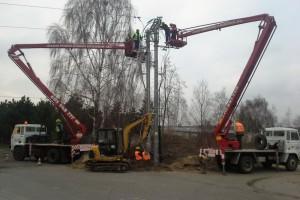 Prace budowlane i elektryczne 72